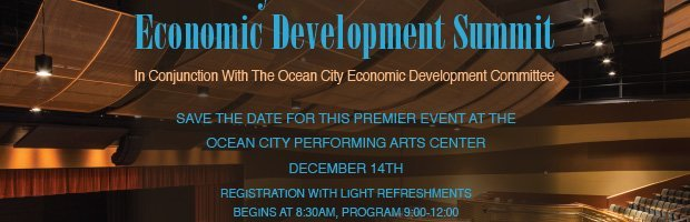 Save the Date for this Premier Event at the Ocean City Performing Arts Center December 14th | Registration with light refreshments begins at 8:30AM, Program 9:00-12:00