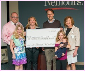 Get Well Gabby presents a gift to Nemours/A.I. duPont Hospital for Children.