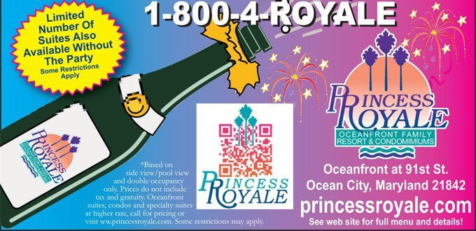 Call 1-800-4-ROYALE or visit us online at www.princessroyale.com